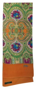 Oilily Multi-colored Paisley Scarf