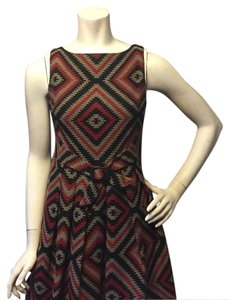 Eva Franco short dress red black on Tradesy
