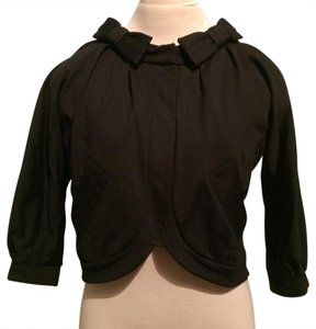 Marc by Marc Jacobs Knit Bows Cute Easy Comfortable Black Jacket