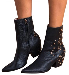 Matisse black with rose gold stars Boots