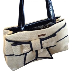Kate Spade Tote in Beige and some black