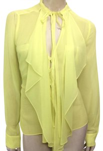 BCBGMAXAZRIA Top Highlighter yellow