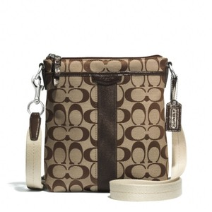 Coach Signature Fabric 51157 Cross Body Bag