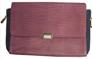 Michael Kors purple/blue Clutch