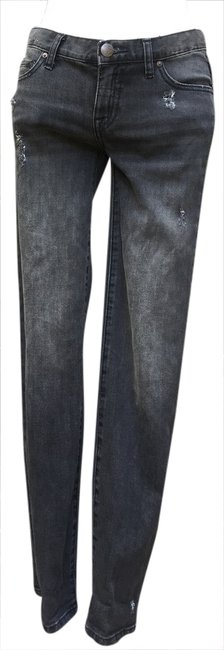 Item - Black Distressed Skinny Jeans Size 25 (2, XS)