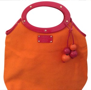 Kate Spade Tote in Orange and pink