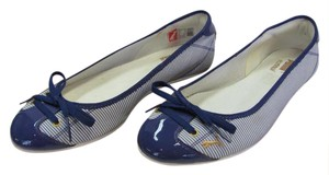 Puma Size 6.00 M Very Good Condition Blue, White, Flats