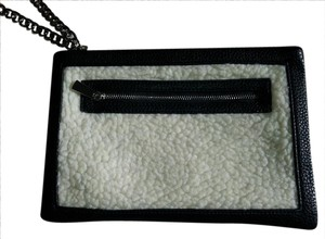 Express Black/White Clutch
