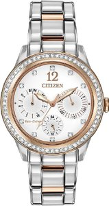 Citizen Citizen Eco-Drive Silhouette Crystal Ladies Watch FD2016-51A