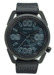 Citizen Citizen Eco-Drive Nylon Mens Watch AW0018-00F