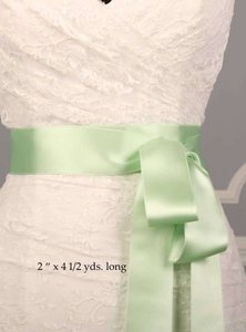 Mint Green Ribbon Sash 2