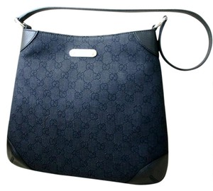 Gucci Fabric Hobo Shoulder Bag