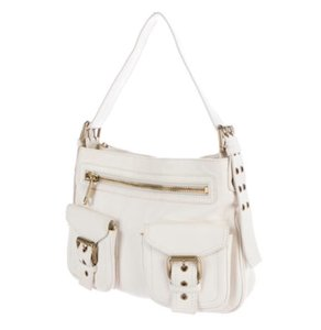 Marc Jacobs White The Sophia Limited Edition Ivory Shoulder Bag