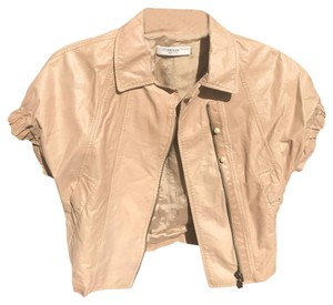 Prada taupe Leather Jacket
