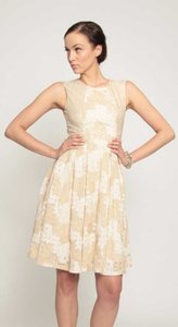 Eva Franco Lace Floral Holiday Classic Dress