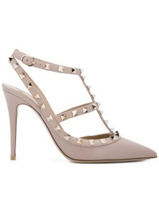 Valentino Rockstud Pink Nude poudre Pumps