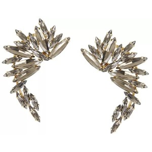 BCBGMAXAZRIA wing ear cuff earrings
