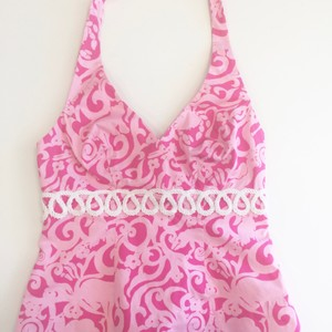 Lilly Pulitzer Pink Halter Top