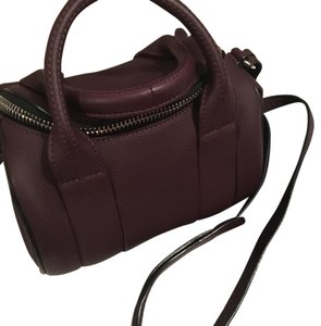 Alexander Wang Satchel in oxblood