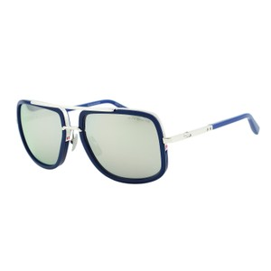 Dita Eyewear New DITA Mach One DRX-2030 Blue Mirrored Titanium Aviator Sunglasses