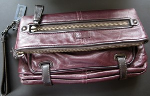 Coach Large Very Rare! Plum Wristlet