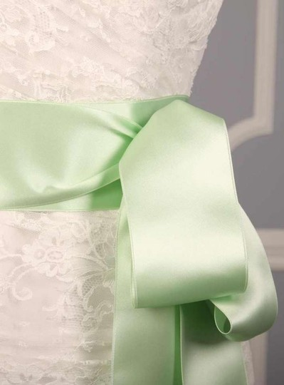 Preload https://img-static.tradesy.com/item/207540/mint-green-ribbon-sash-0-0-540-540.jpg