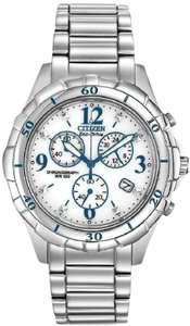 Citizen Citizen Eco-Drive Stainles Stel Chronograph Ladies Watch FB1350-58A [F