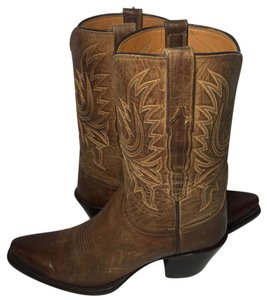 Lucchese Cowgirl 7.5 Women's 7 Western 7.5 Brown Boots
