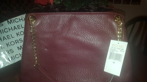 Michael Kors Tote in Merlot