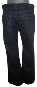 Citizens of Humanity Hutton #251 Stretch High Rise Hemmed Trouser/Wide Leg Jeans-Dark Rinse