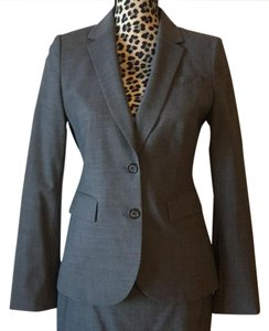 Banana Republic 2 Button Wool Blend Suit Jacket
