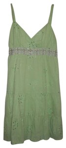 City Triangles short dress green Juniors Spring on Tradesy