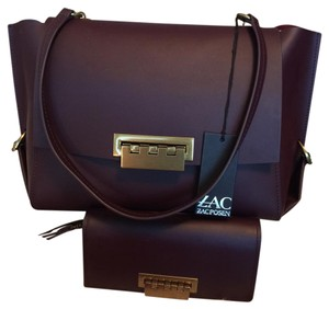 Zac Posen Satchel in merlot