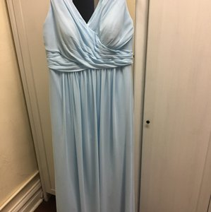 Bill Levkoff Sky Blue Bridesmaids Dress Dress
