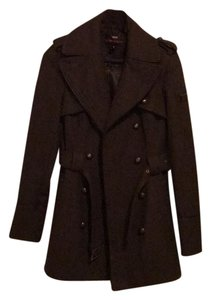 Miss Sixty Military Belt Belted Pea Coat
