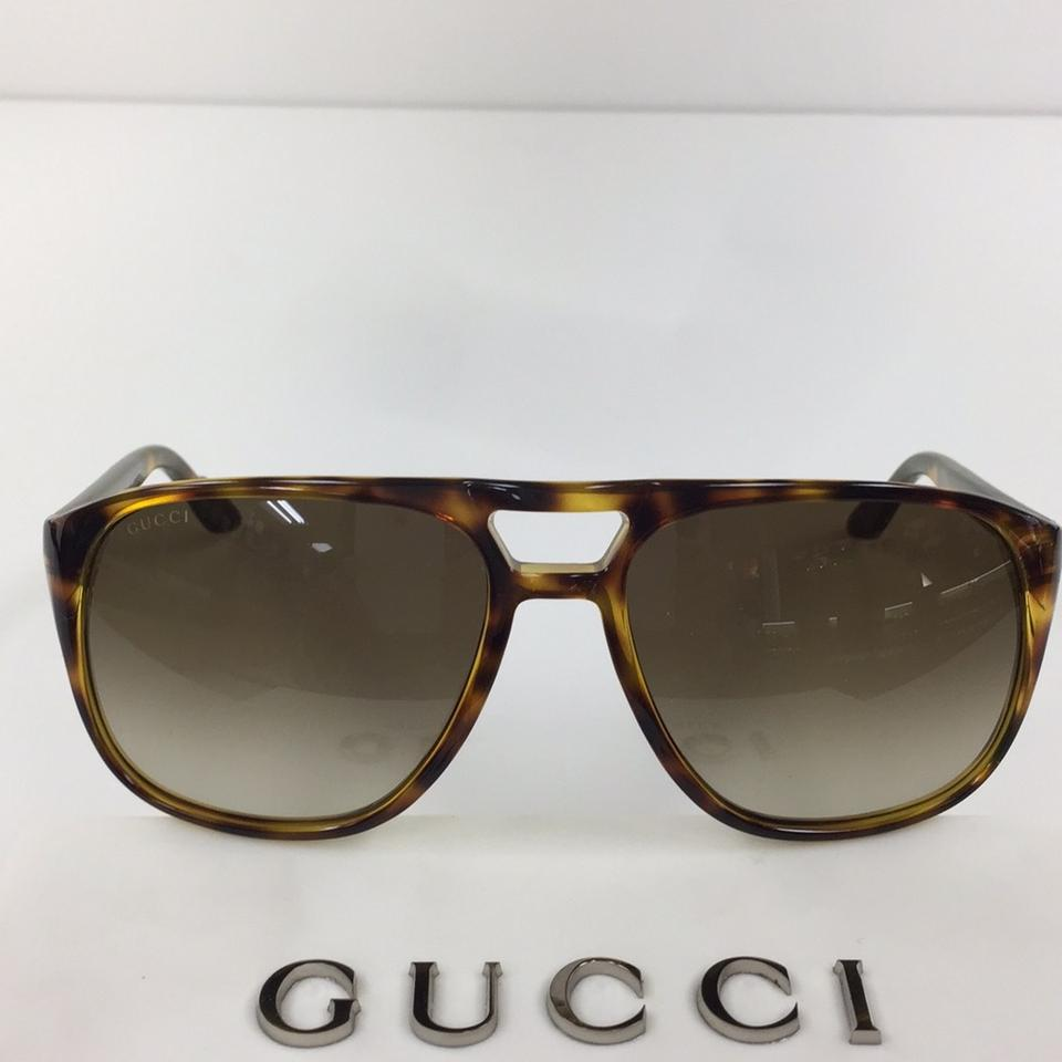 e0bae161c43 Gucci New Gucci GG 1018 S 791CC Havana Green Red Gold Plastic Style  Sunglasses 135mm. 123456