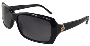 Gucci New Gucci GG 3590/S 807WJ Black Gold Plastic Style Sunglasses 125mm