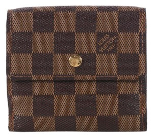 Louis Vuitton Damier Double Sided Porte Monnaie Wallet