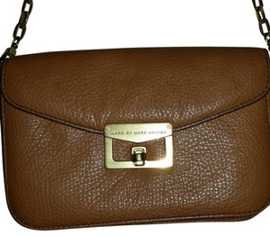 Marc by Marc Jacobs Leather Wallet On A Chain Cross Body Bag
