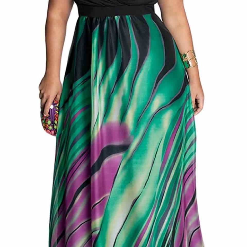 Igigi Rainforest Paradise 18/20 Long Casual Maxi Dress Size 18 (XL ...