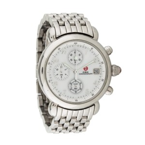 Michele michele CSX Chronograph Mother of Pearl Silver Watch