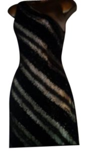 black Maxi Dress by Carmen Marc Valvo Full