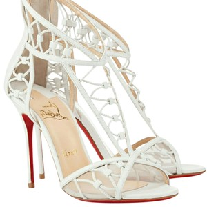 Christian Louboutin White Sandals