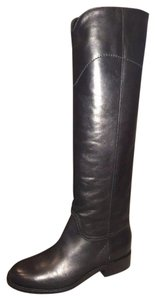 Chanel Ascot Riding Cc Black Boots