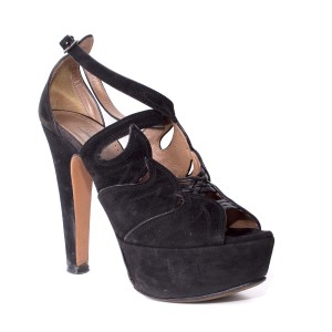 ALAÏA Suede black Pumps
