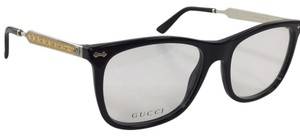 Gucci New Gucci GG 3852 CSA Black Silver Gold Plastic Style Eyeglasses 140mm