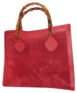 b8ee4dc479a Gucci Extra Large Size Or Tote Multi-compartment Restored Lining Great Pop  Of Color Satchel