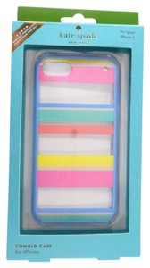 Kate Spade Kate Spade WIRU0499 Dune Stripe Multi-Color Transparent iPhone 7 Cover