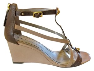 Marc by Marc Jacobs Nude Wedges