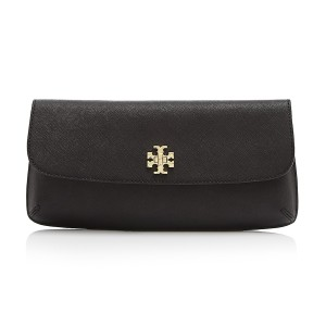 Tory Burch Diana Black Clutch